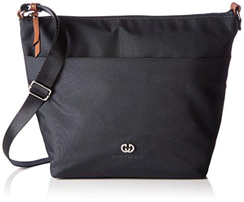 Leder Flap Shoulder Bag (Gerry Weber Damen Lemon Mix II Shoulder Bag H, L Schultertaschen, Blau (402), 23x25x10 cm)