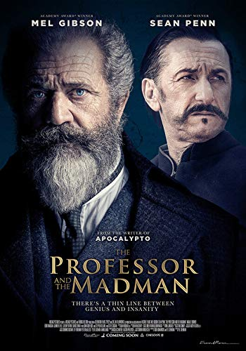 Price comparison product image Pac Prints buy one get one free : A4 professor and the madman movie poster 2019 v2