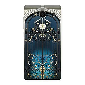 Stylish Royal Door Print Back Case Cover for Redmi 2s