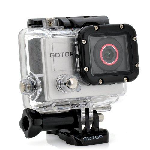"""dtrigigo Sport Kamera """"Segelhose GOTOP–FHD 16MP, 3,8cm Display, 140Grad Weitwinkelobjektiv, 5Montage Zubehör"""