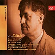 Talich Special Edition 16 Benda: Sinfonia in B flat; Dvořák, Suk: Serenades, Tchaikovsky: Andante cantabile, Song Without Words