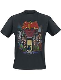 Batman Rogues Gallery T-shirt noir