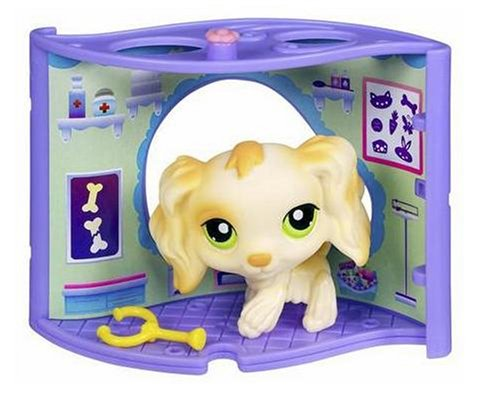 Littlest Pet Shop - Pet Nook - Shop-Set mit Hund LPS 347 - Shop-pet-sets Pet Littlest