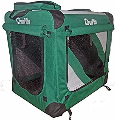 Crufts Soft Dog Crate - 41 ins