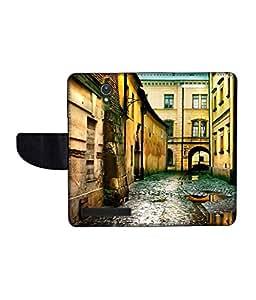KolorEdge Printed Flip Cover For Asus Zenfone C Multicolor - (47KeMLogo09374ZenC)