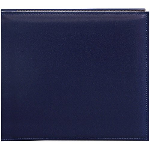 Pioneer 20,3cm von 20,3cm Snapload genäht Kunstleder Memory Book, Navy blau (Pioneer 8x8 Scrapbook Album)