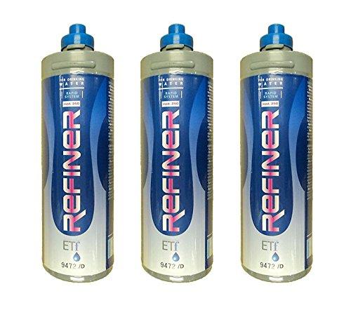 Novacqua Filtri Refiner Rs250 05 Micron Lt. 5000 Kit 3 Pezzi