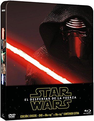 Star Wars: El Despertar De La Fuerza - Edición Metálica (DVD + Blu-ray)...