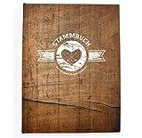 bigdaygraphix Stammbuch der Familie Familienstammbuch Rusty Wood