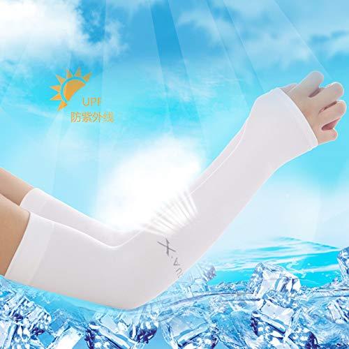 Klassische Webart-gewebe (WFire Sonnenschutzmanschetten für Männer und Frauen, eisige Armbänder, Ärmel, Eisärmel für Outdoor-Sportarten, aufschlussreiche Daumenfarbe)