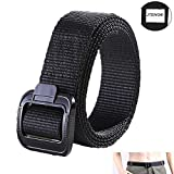"JTENG Web Belt Belt Non-metallic buckle casual wear belt Duty belt TDU belt Men's Airport Friendly Belt 1.5-Inch for waist 28""-48"""