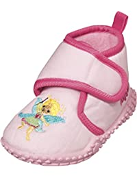 Playshoes Hausschuh Fee, Chaussons Doublé Chaud Fille