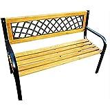 New Classic Lattice Holz 3-Sitzer Garten-Bank im Park Sitz Kinder Erwachsene Bench