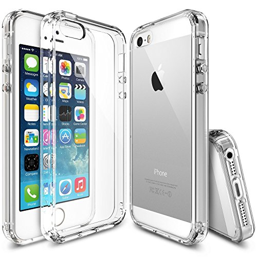LAPFONES Ultra Thin 0.3mm Clear Transparent Flexible Soft TPU Slim Back Case Cover For Apple iPhone 5 / 5S /5C (Transparent)  available at amazon for Rs.98
