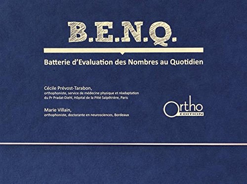 BENQ Batterie d'Evaluation des Nombres au Quotidien