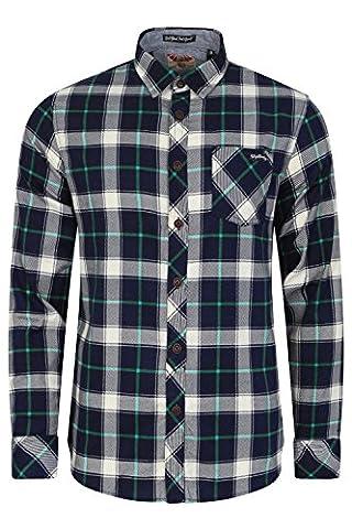 Chemise en flanelle à carreaux à manches longues par Tokyo