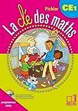 La clé des maths CE1 : Programmes 2008 (sans CD-rom)
