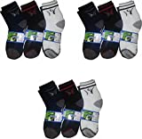 #9: SUPER DEAL BAZZAR STORE Men's Ankle Length Cotton Socks (Pack of 9)