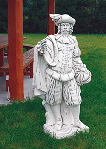 Adliger (S101024) Skulptur Gartenfiguren Statuen Steinguss 160 cm