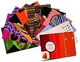 Pachanga Postkartenset: Schmetterlingsflügelmuster zum Versenden und Sammeln - Belen Mena