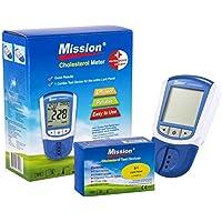 Swiss Point Of Care Amazon Starterpack   Mission 3 in1 Cholesterol Meter + 5 Cholesterol tiras reactivas en un práctico set   Para la medición precisa en laboratorio  Resultados en segundos