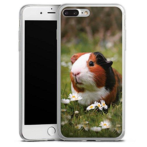 Apple iPhone 4s Slim Case Silikon Hülle Schutzhülle Meerschwein Meerschweinchen Tiere Silikon Slim Case transparent