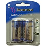 Immense D LR20 1.5v Alkaline Battery (12 Blister Pack With 2 Cells)- Total- 24 Cells