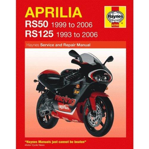 Preisvergleich Produktbild Haynes Handbuch Funk Wanduhr ohne ticken für Aprilia RS50 (99–05) / RS125 (93–05) (h4298)