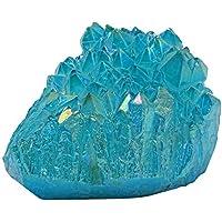 HARMONIZE Aqua Aura Quartz Crystal Stein Reiki Specimen Stein Dekoration Coated preisvergleich bei billige-tabletten.eu