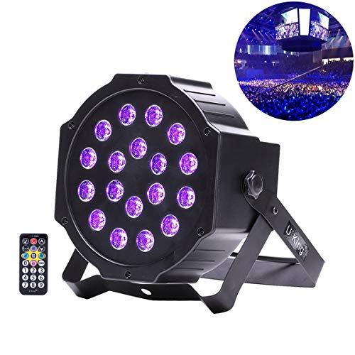 t mit 18 * 3W LED Fernautostimme DMX Steuerung Par Stadiums Beleuchtung für Hochzeits Kirchen Galerie Ausgangs Party Kunst Show (18LED) ()