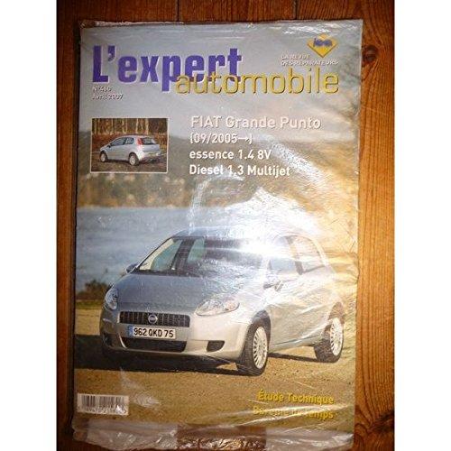 Lea-l'expert Automobile - Grande Punto 05- Revue Technique Fiat Etat - Comme Neuf sous film Origine