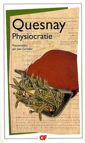 Physiocratie par François Quesnay