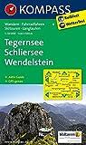 Tegernsee - Schliersee - Wendelstein: Wanderkarte mit Aktiv Guide, Radwegen, Skitouren und Loipen. GPS-genau. 1:50000 (KOMPASS-Wanderkarten, Band 8) -