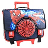 Spiderman - Cartable à roulettes Spiderman Trolley 38 CM Haut de Gamme