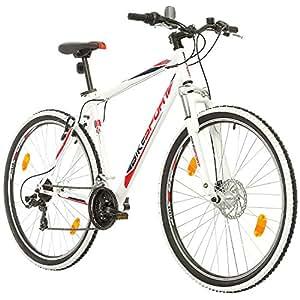 BIKE SPORT LIVE ACTIVE 29 Zoll Bikesport HI-Fly Herren Fahrrad MTB Mountainbike Hardtail Shimano 21 Gang (Weiß, XL)