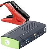 reVolt Auto Starthilfe: Notebook-Powerbank mit Kfz-Starthilfe & LED-Leuchte, 8.000 mAh, 400 A (Starterbatterie)