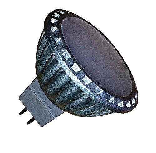 Preisvergleich Produktbild Funkelt und LED Leuchtmittel,  MR16,  MR 16-8C 2 LEDs,  Warm weiß,  2 Stück