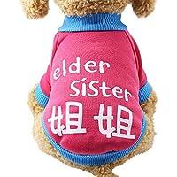 Ropa para Mascotas,Gusspower suéter Perro Mascota Cachorro clásico suéter Polar Ropa Caliente suéter de Invierno