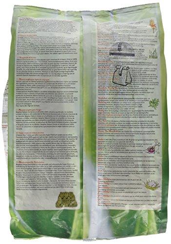 Nature Kaninchen | Getreidefreies Kaninchenfutter | Mit getrockneten Kräutern & kanadischem Timothy Heu | Ohne Konversierungsstoffe | 3 kg - 4