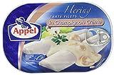 Appel Heringsfilets, zarte Fisch-Filets in Champignon-Creme, MSC zertifiziert, 200 g