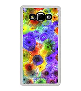 Colourful Jelly Fish 2D Hard Polycarbonate Designer Back Case Cover for Samsung Galaxy A8 (2015 Old Model) :: Samsung Galaxy A8 Duos :: Samsung Galaxy A8 A800F A800Y