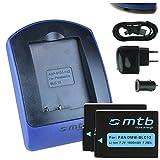 2 Akkus + Ladegerät (Netz+Kfz+USB) für Panasonic DMW-BLC12 / Lumix DMC-G5, G6, G70, G81, GH2, GX8, FZ2000.. / Sigma dp0/1/2/3 quattro - s. Liste