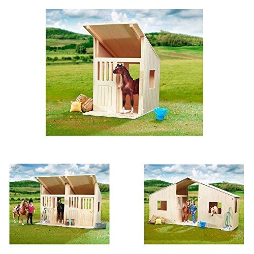 Breyer Classics Holzstall Pferdestall Scheune Stall aus Holz