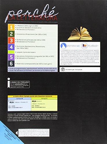 Perché la letteratura. Ediz. rossa. Per le Scuole superiori. Con e-book. Con espansione online: 4