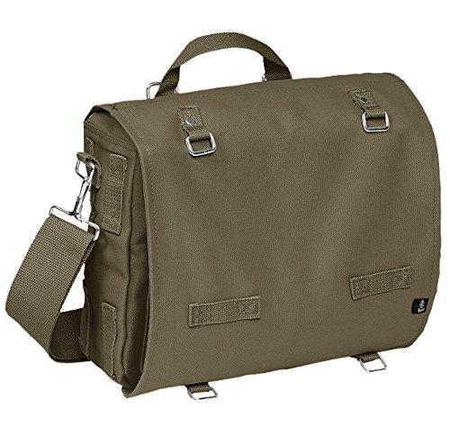 Brandit Pack borsa sacchetto per il pane verde Oliv - Klein Small Oliv - Groß