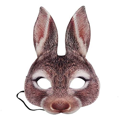 King Kostüm China - WSCOLL Halloween Party Maske Halloween Party Safe Tier Kaninchen Kopf Alle Gesichtsmaske Für Erwachsene Unisex Cosplay Kostüm Zubehör China C