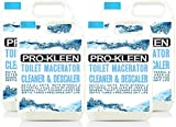 20L of Pro-Kleen Toilet Macerator Cleaner & Descaler   Highly Concentrated, Long-Lasting Formula   Compatible With All Saniflo Pump Units, Toilets & Urinals   Helps Prolong Life of Unit