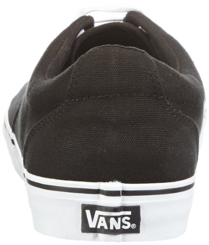Vans Kress (Canvas) VNLH8J7 Herren Sneaker Schwarz (Black/True Whit / 6BT)
