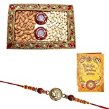 #10: Rakhi Dry Fruits Combo with Greeting Card 1324
