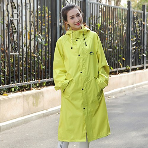 Longue Section Mode Version Coréenne Couple Outdoor Windbreaker Men And Women Raincoat Motorcycle Poncho Veste imperméable ( couleur : N ° 3 , taille : Xl ) # 1